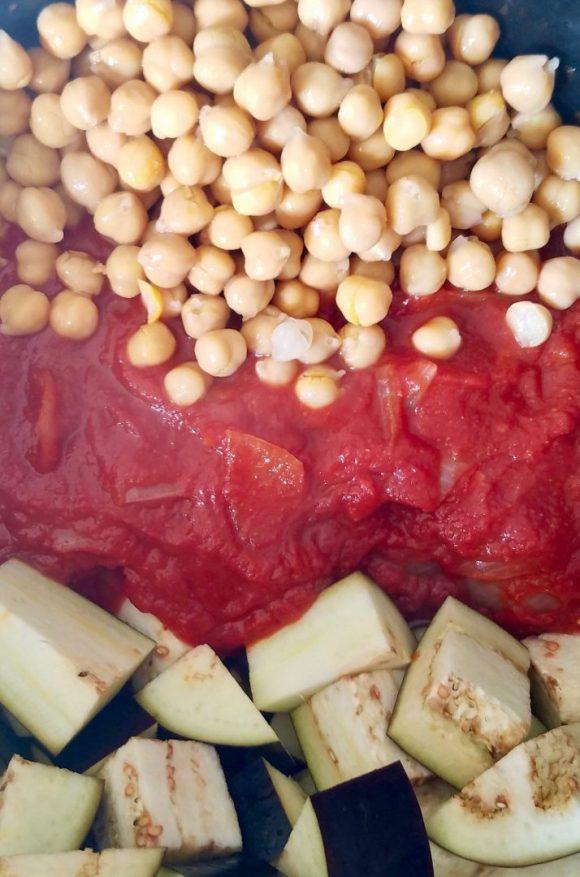 Chickpea stew recipe vegan