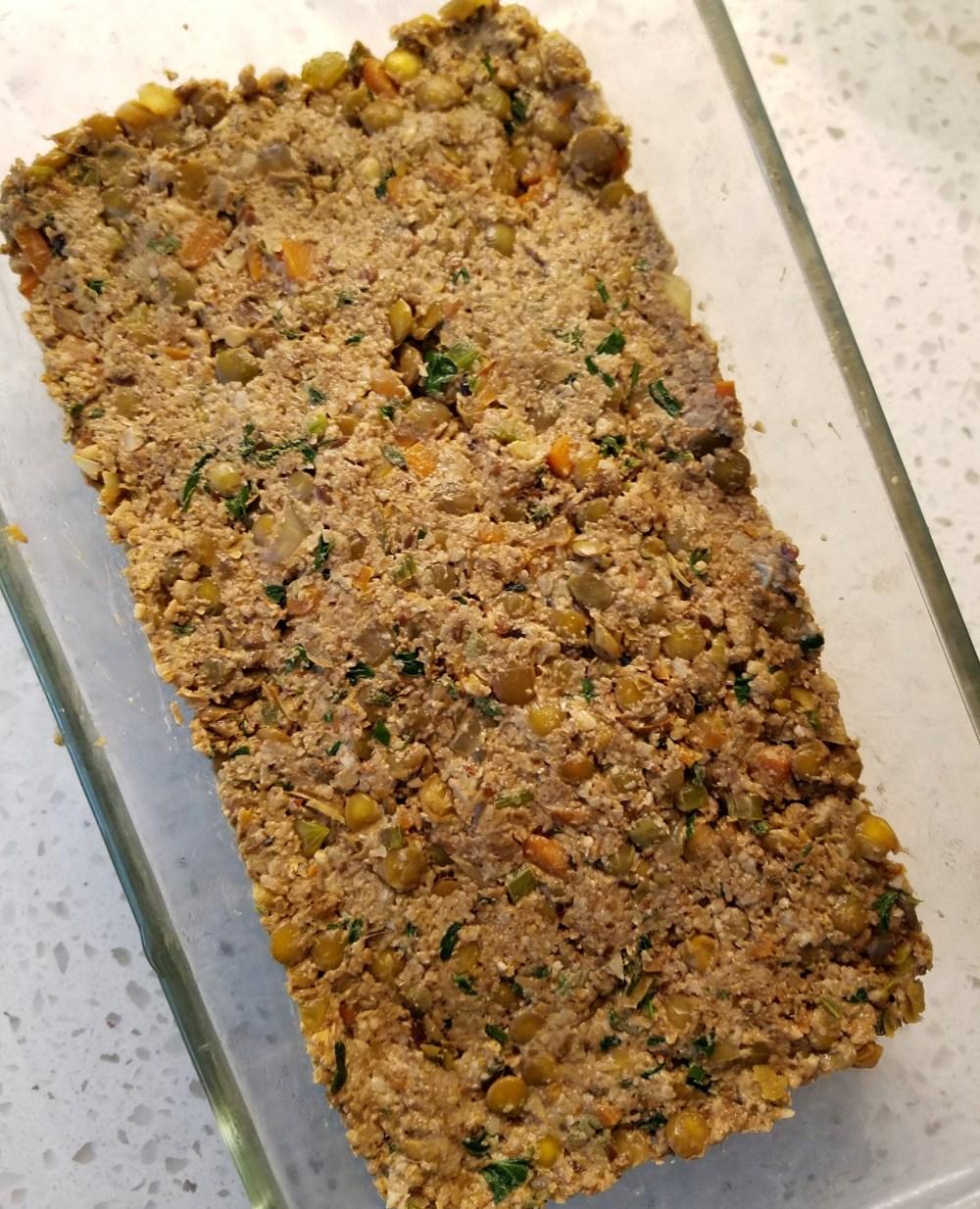 Vegan Lentil Loaf Gluten Free