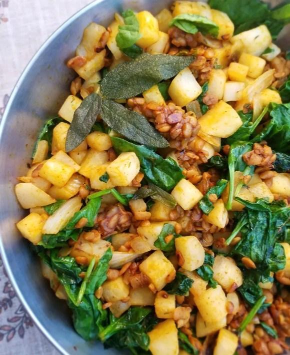 Vegan Turnip Dishes