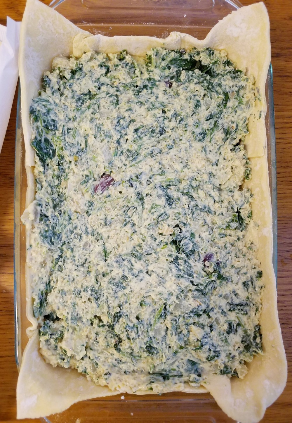 Vegan Spinach Tofu Pie Recipe