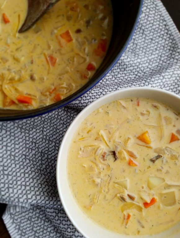 Sauerkraut soup recipe vegan