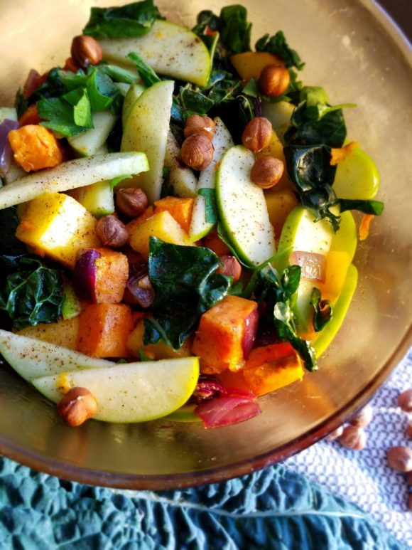 Vegan Kale Salad Recipe