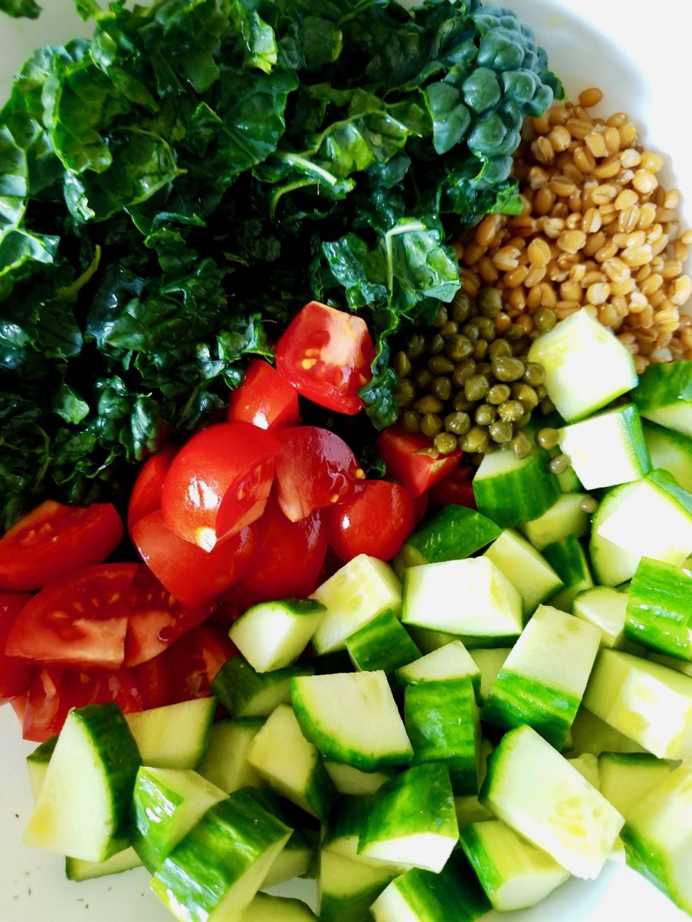 Vegan Wheat Berry Salad Recipes