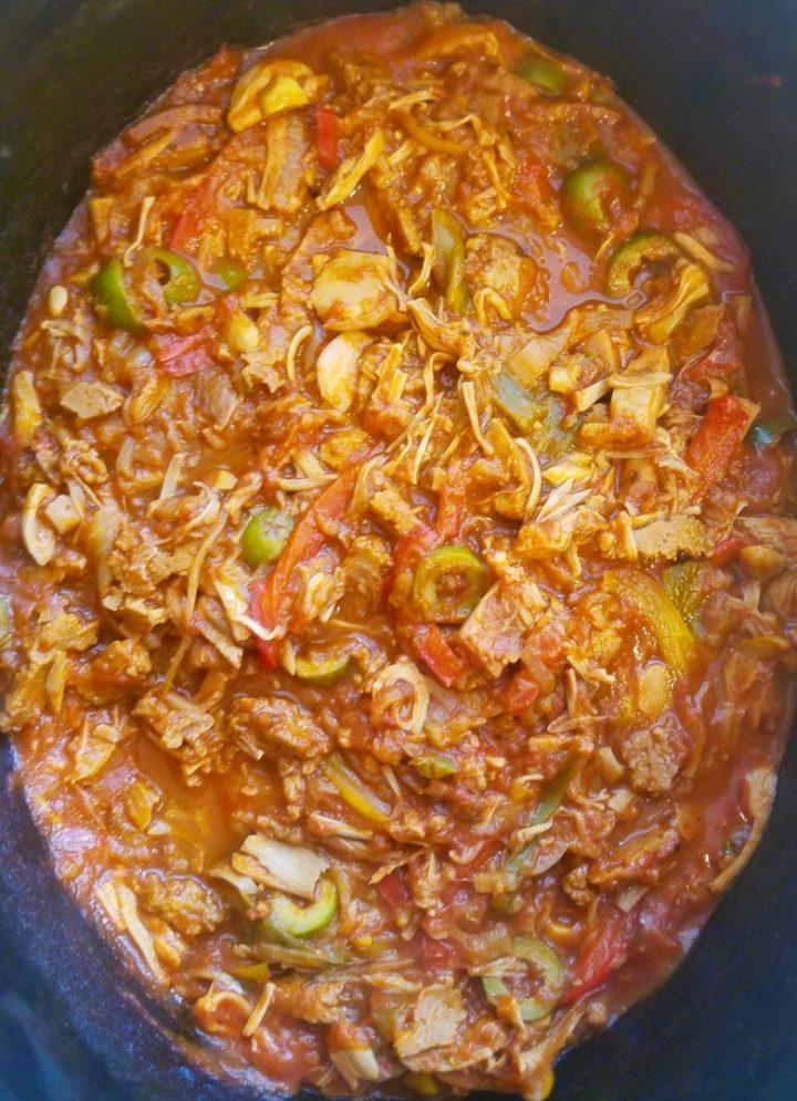 Vegetarian Ropa Vieja Recipe