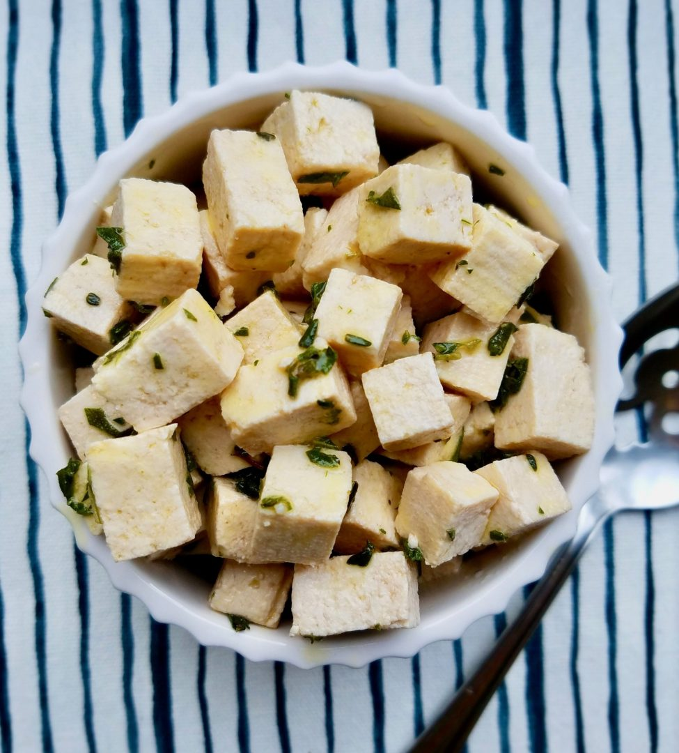Homemade Vegan Feta Recipe