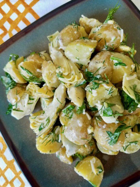 Artichoke Potato Salad Recipe