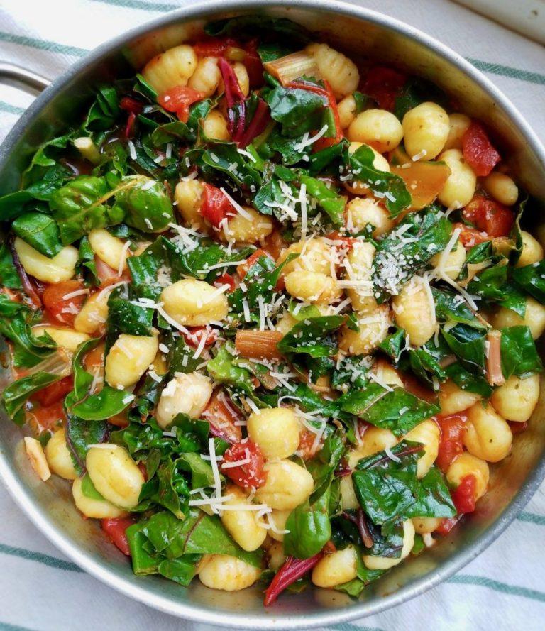 Swiss Chard Pasta Recipes Vegan