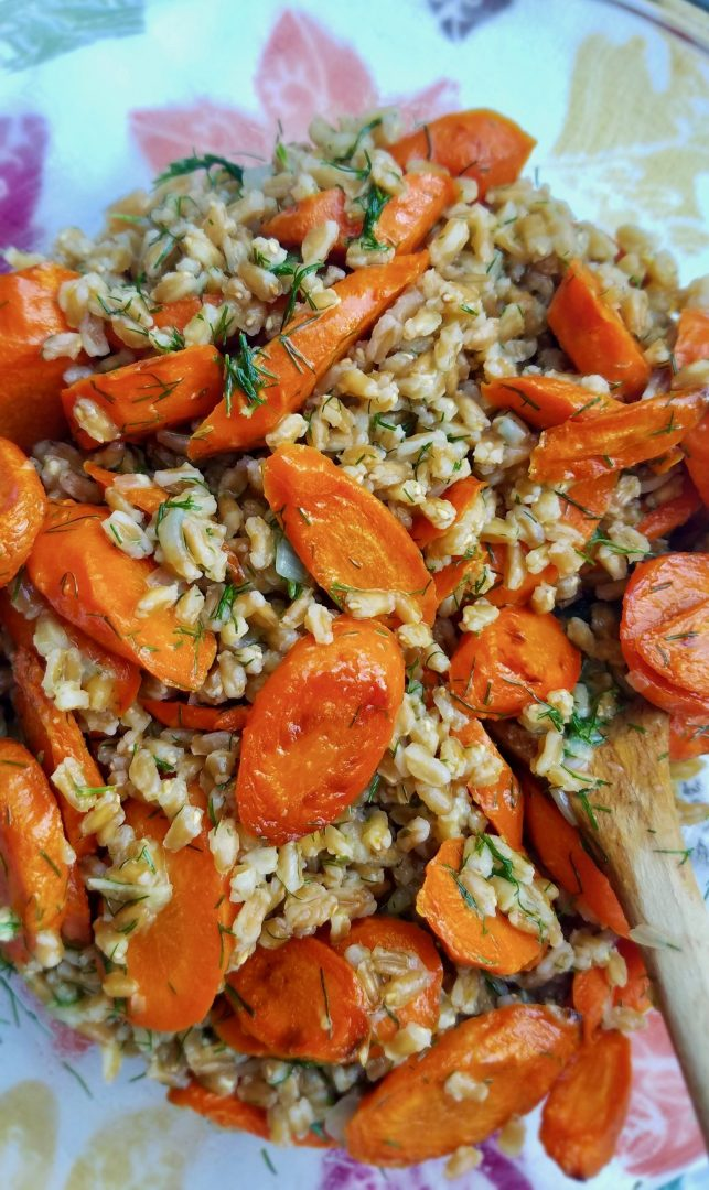 Vegan Thanksgiving Recipes Carrots