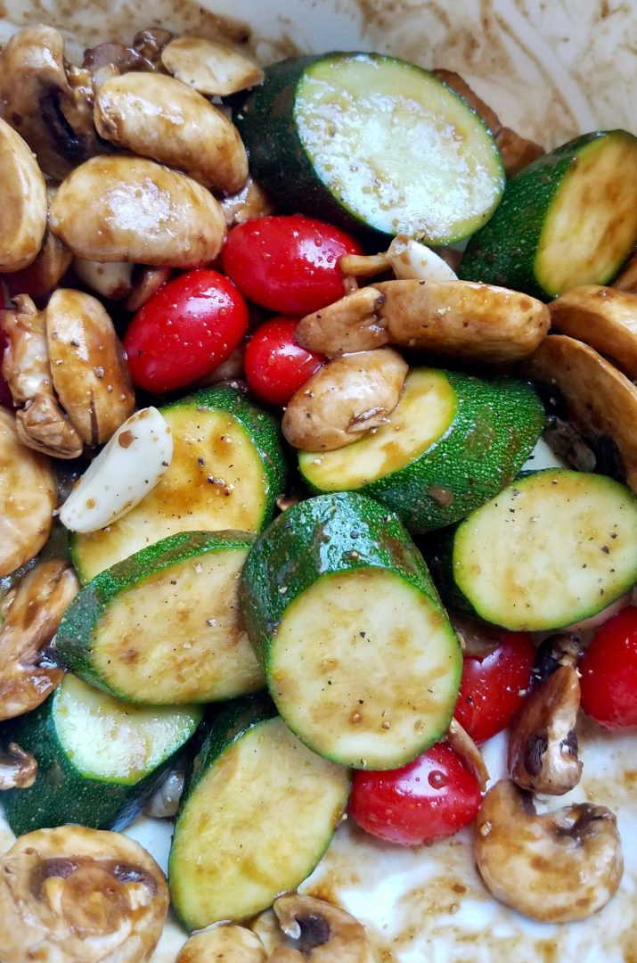Roasted Vegetables with Balsamic Vinegar