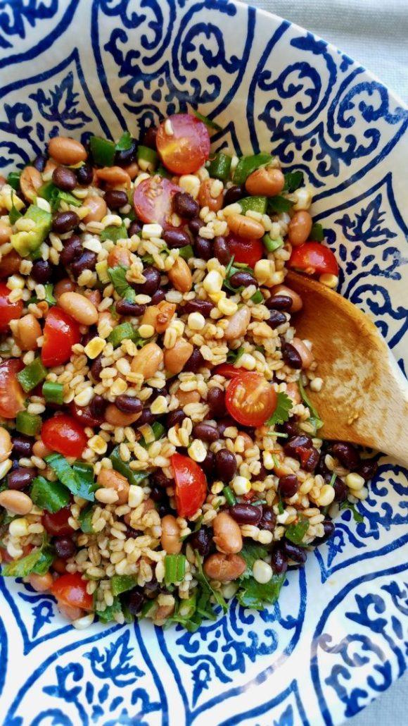 Barley Salad Vegan Recipe