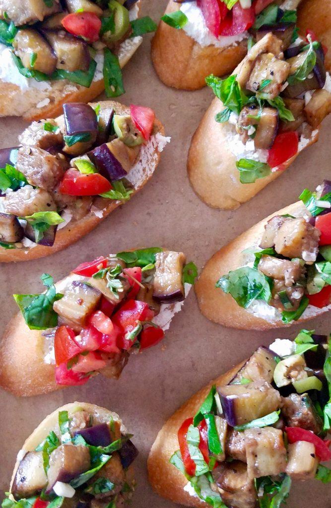 Vegan Toppings for Crostini