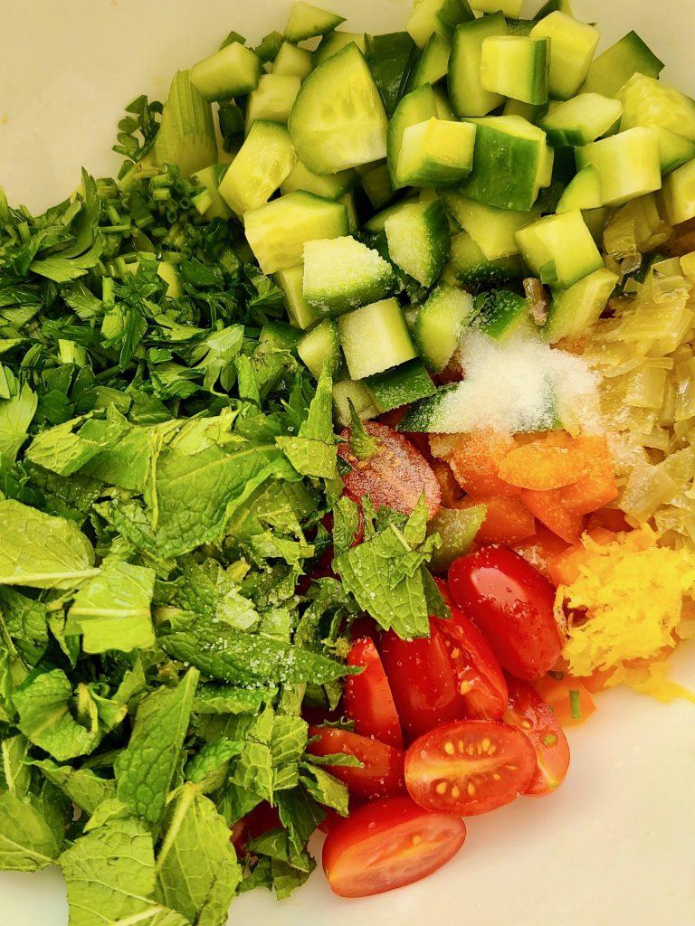Easy Lemon Potato Salad