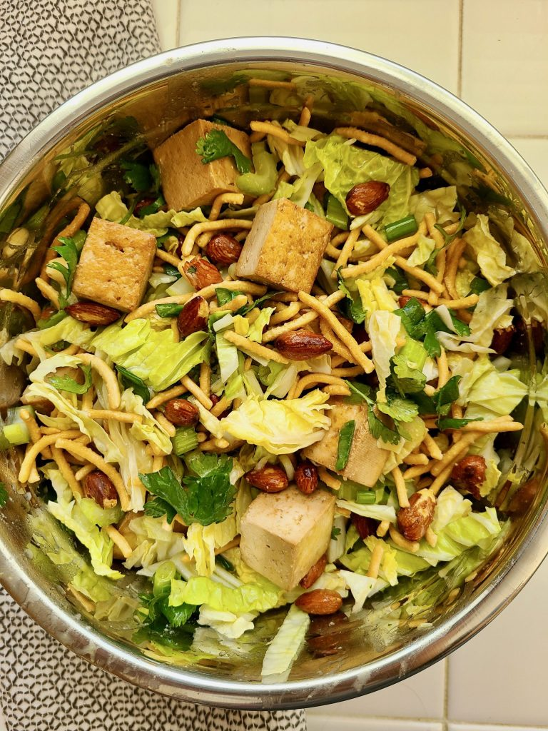 How to Make Asian Coleslaw Salad