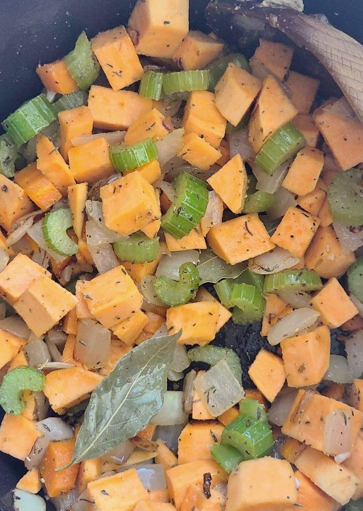 Lentil Soup Recipe with Sweet Potato