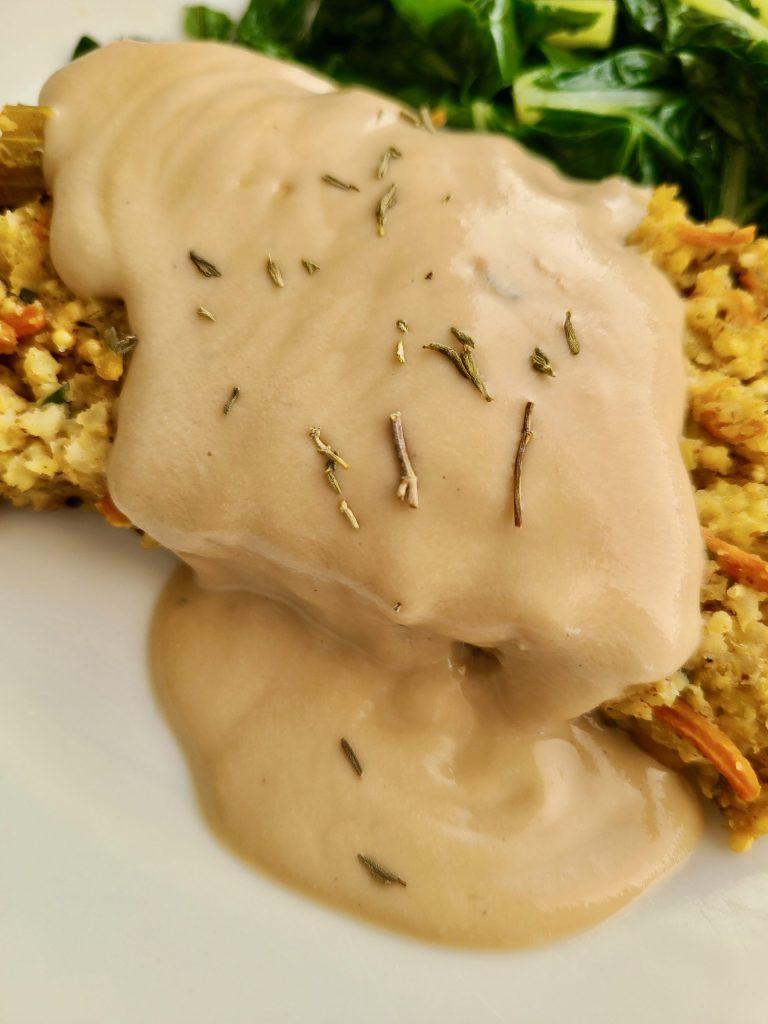 Vegan cashew gravy recipe