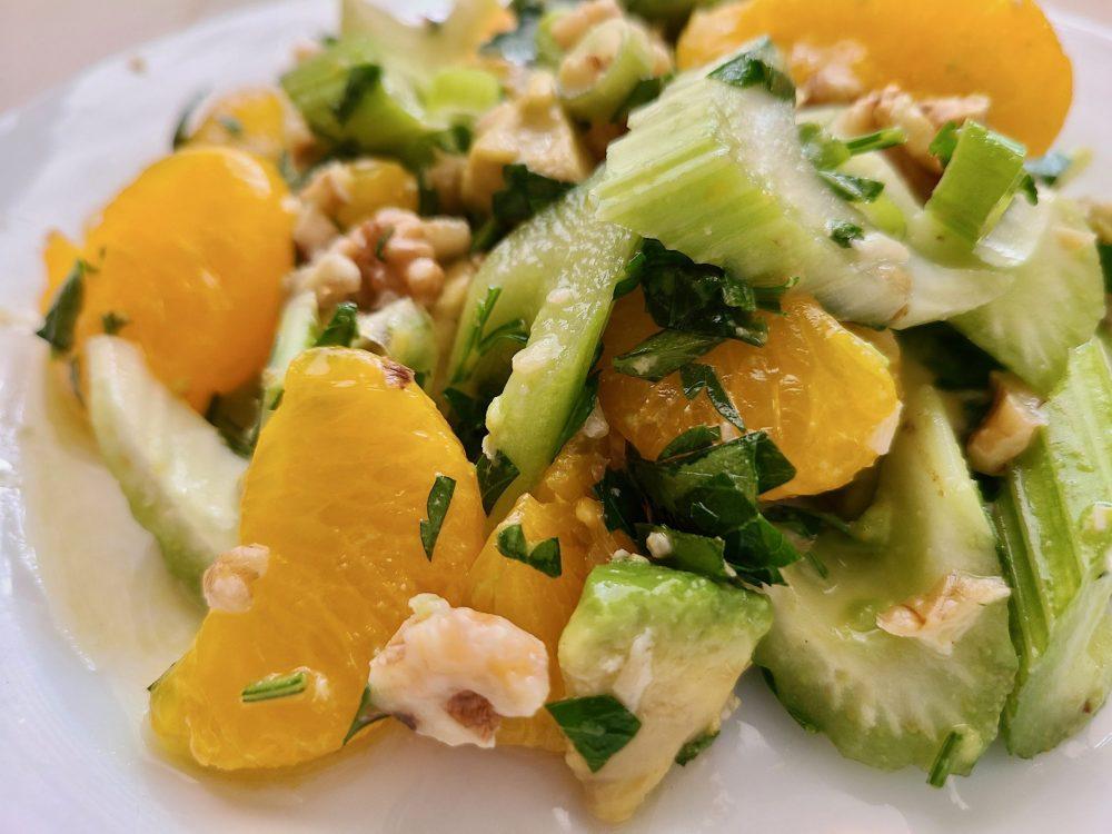 Mandarin Orange Avocado Salad
