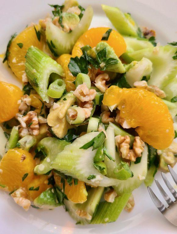 Mandarin Orange Salad with Avocados