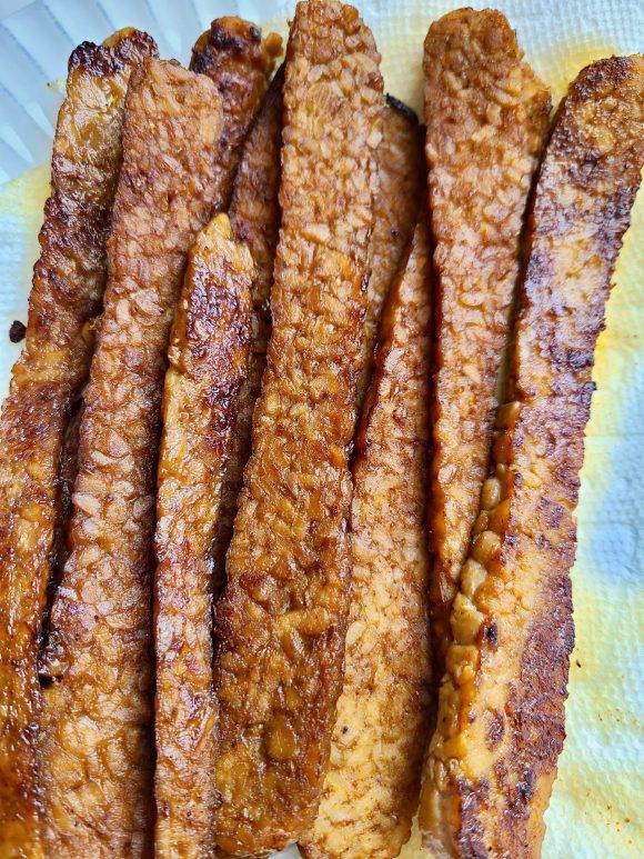 Vegan tempeh bacon recipe