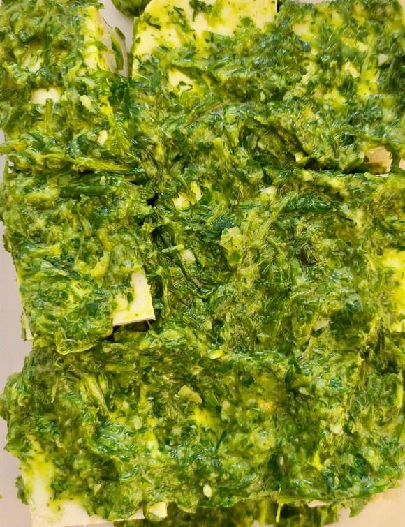 Garlic Herb Tofu Marinade