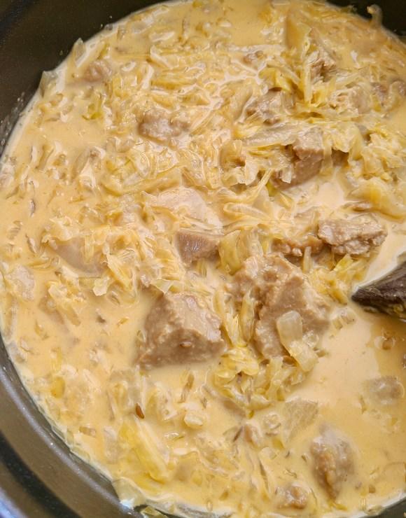 Vegan Sauerkraut Stew