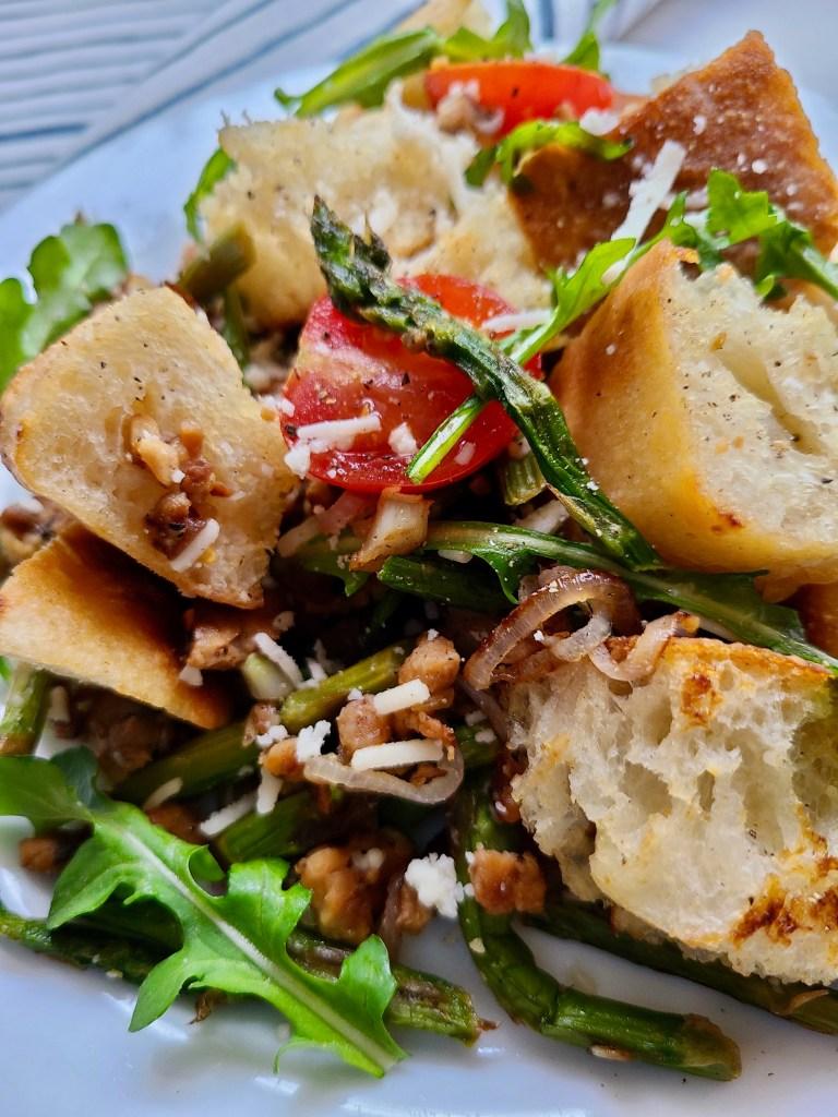 Vegan Salad for Italian Dinner