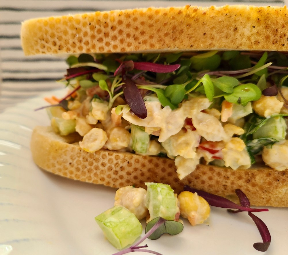 How to Make Chickpea Salad Sandwich