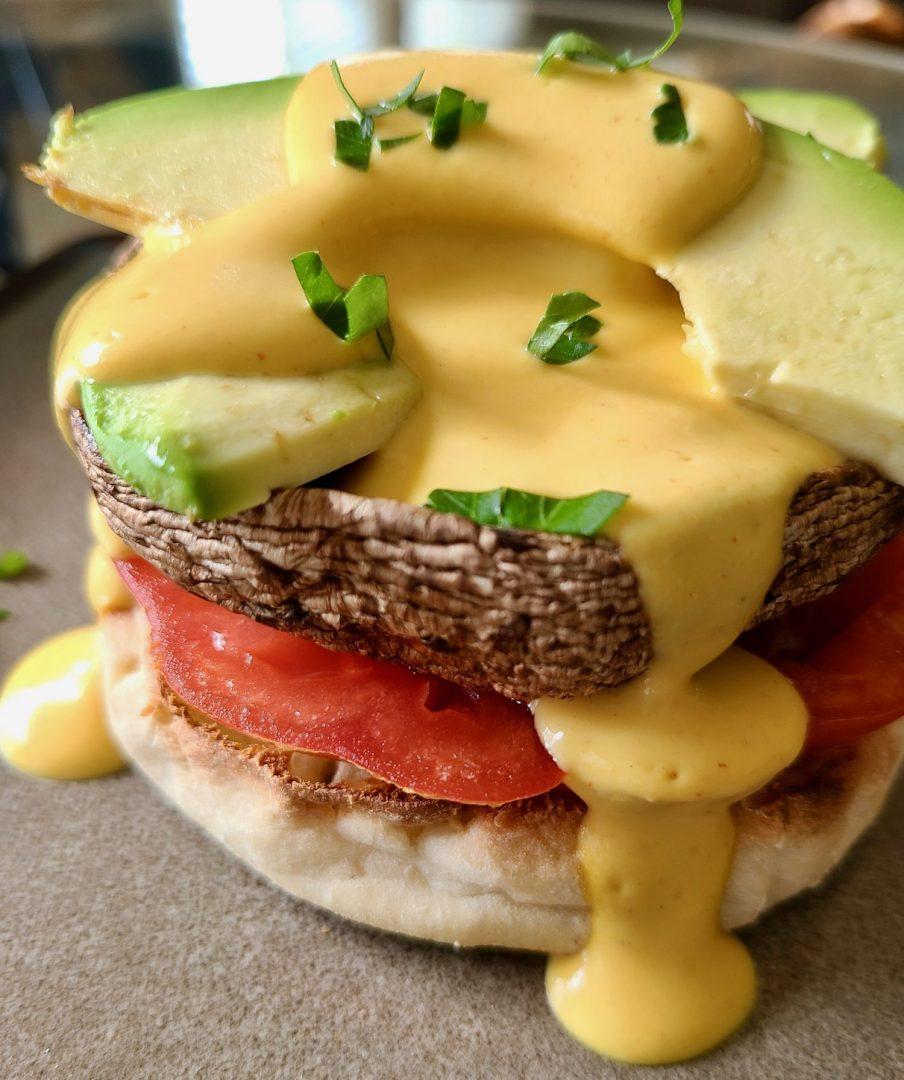 Benedict Vegan Breakfast