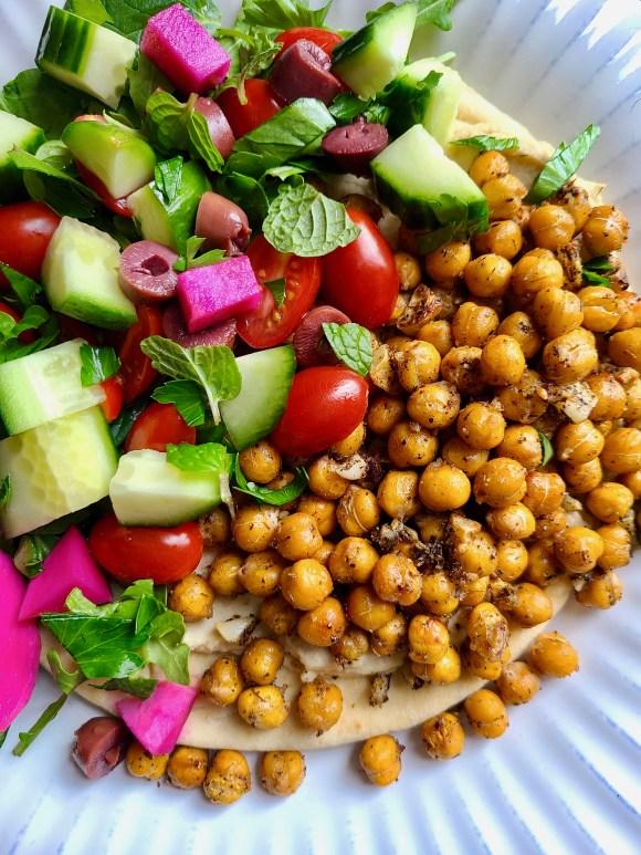Vegan Chickpea Pita Filling
