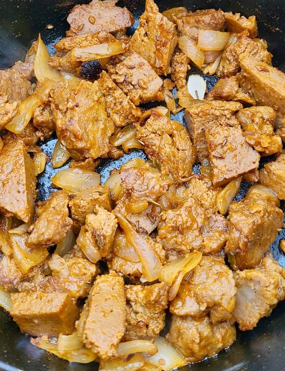 Seitan Goulash Recipe