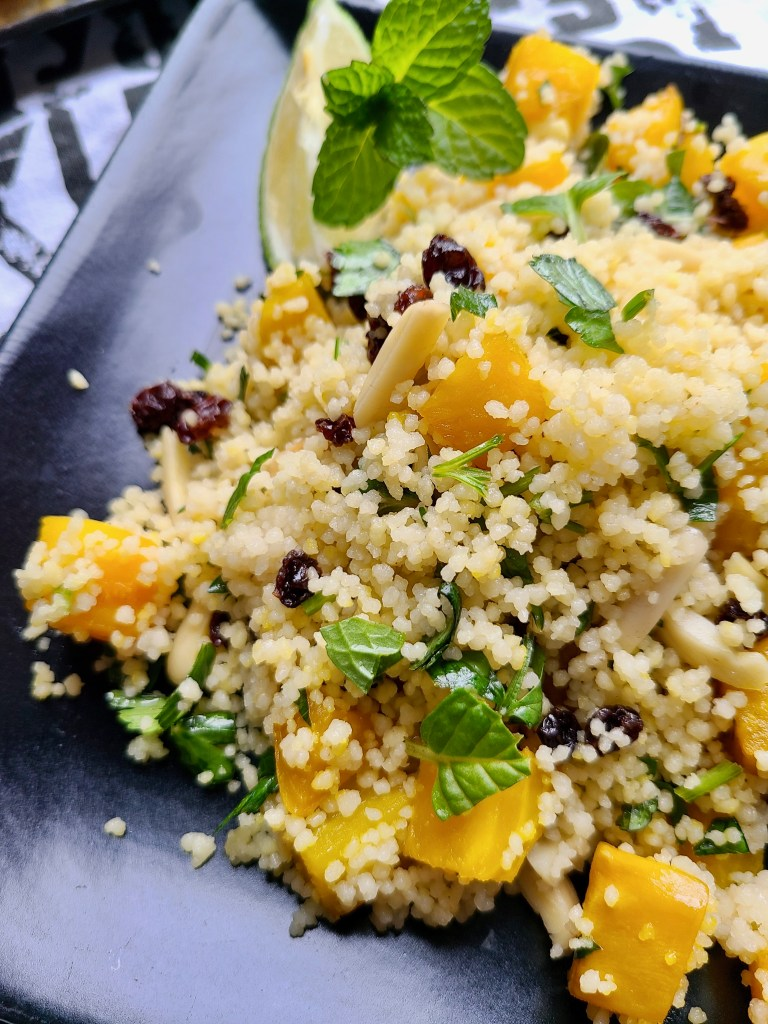 Couscous Salad Vegan Recipe