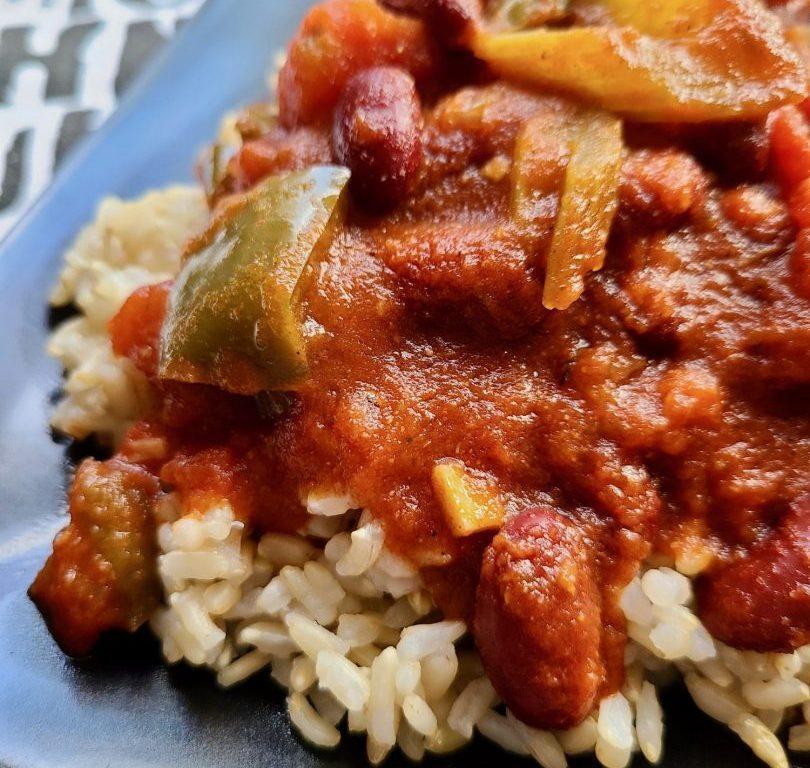 Slow Cooker Bean Stew Vegan