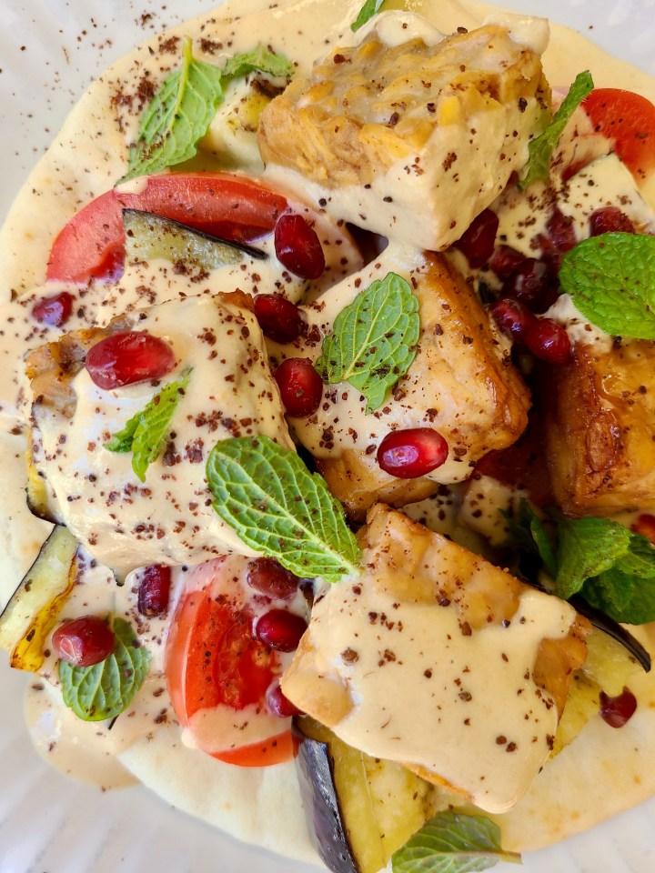 Grilled Tempeh Pita Recipe