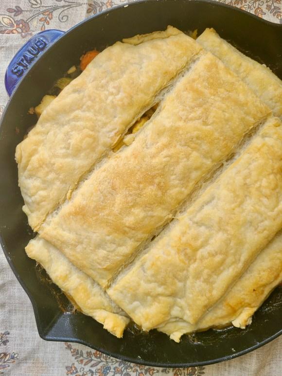 Vegan Pot Pie Thanksgiving