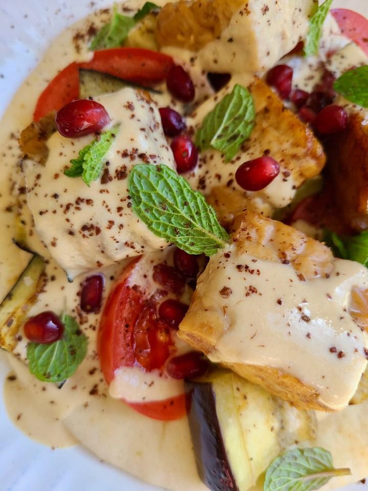 Vegan Pita Dinner Recipe
