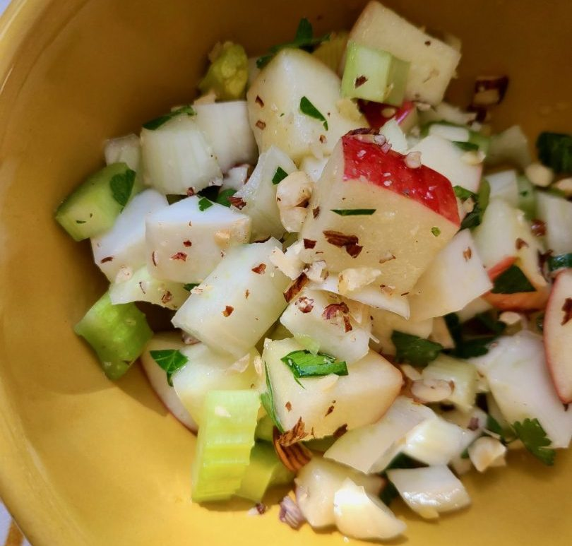 Vegan Celeriac Fennel Salad Recipe