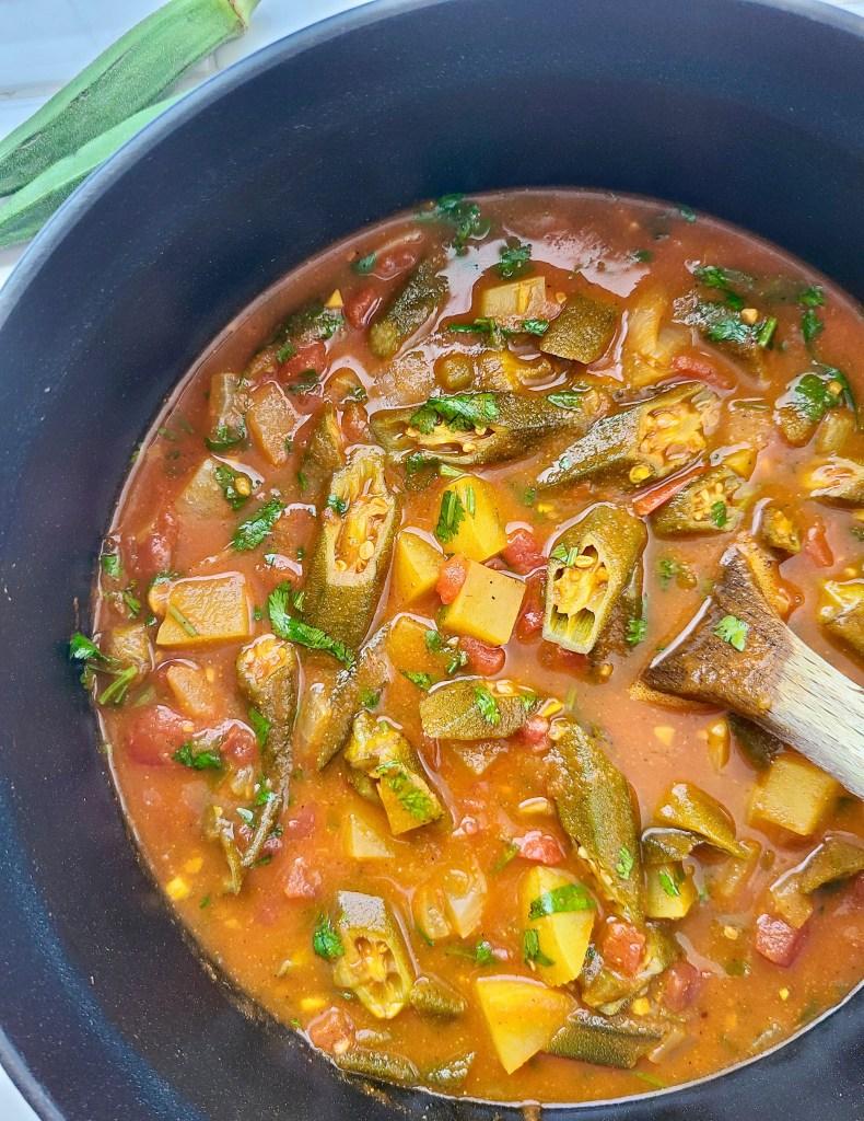 Okra Soup Vegan
