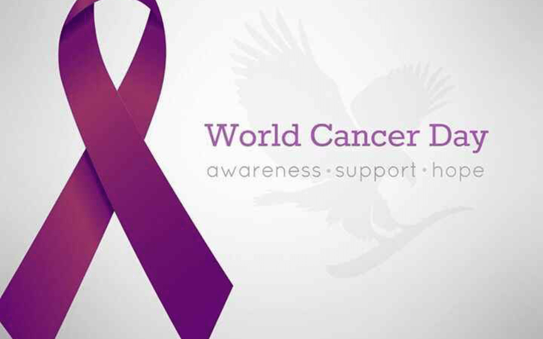World Cancer Day: February 4, 2019.