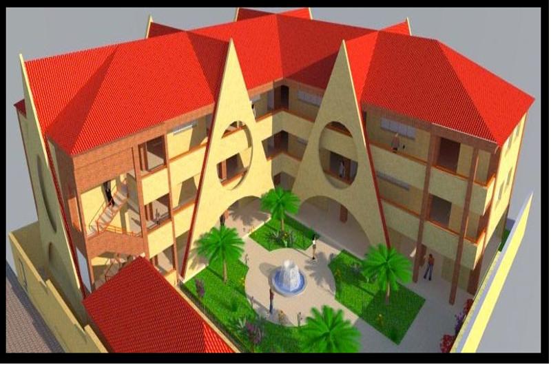 Maquette université GOC Haiti Nazon