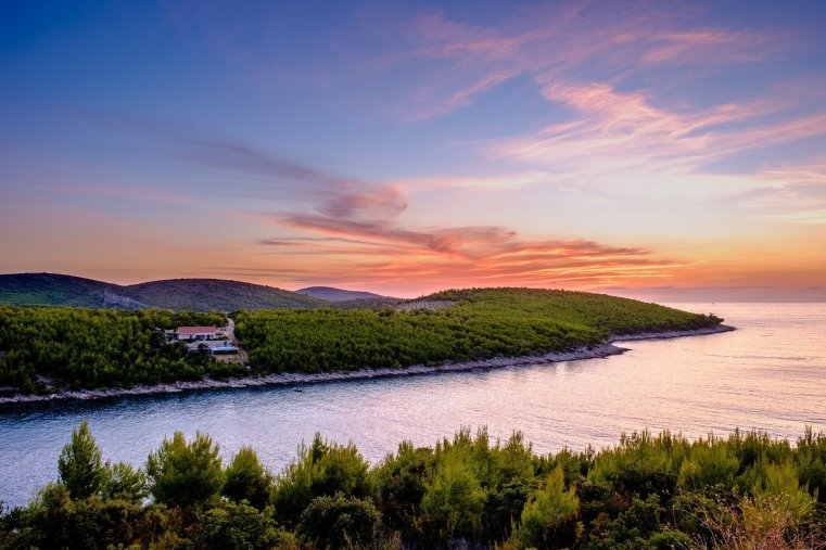 Jagodna Bay, Hvar, Croatia