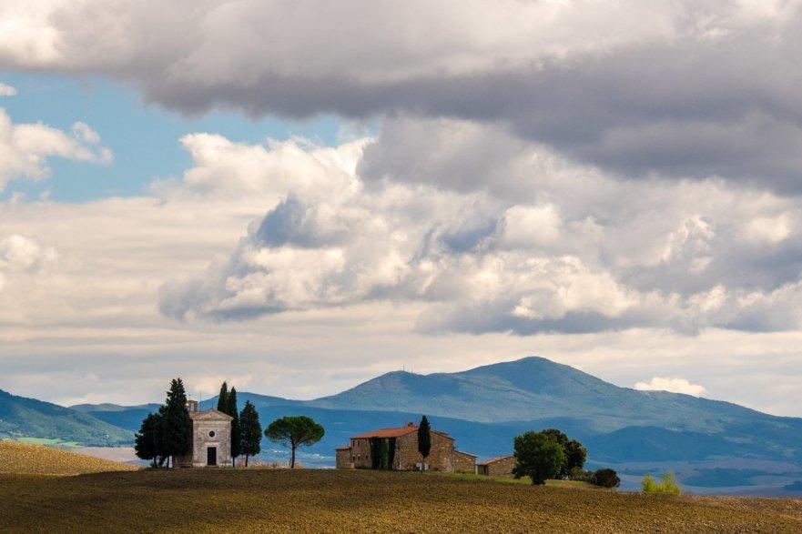 Vitaleta Church, Tuscany