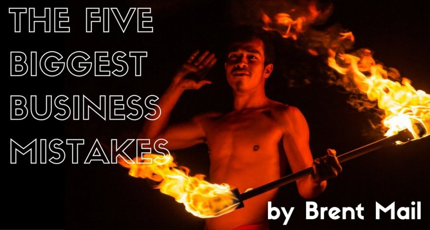 The 5 Biggest Photo-Business Mistakes by Brent Mail