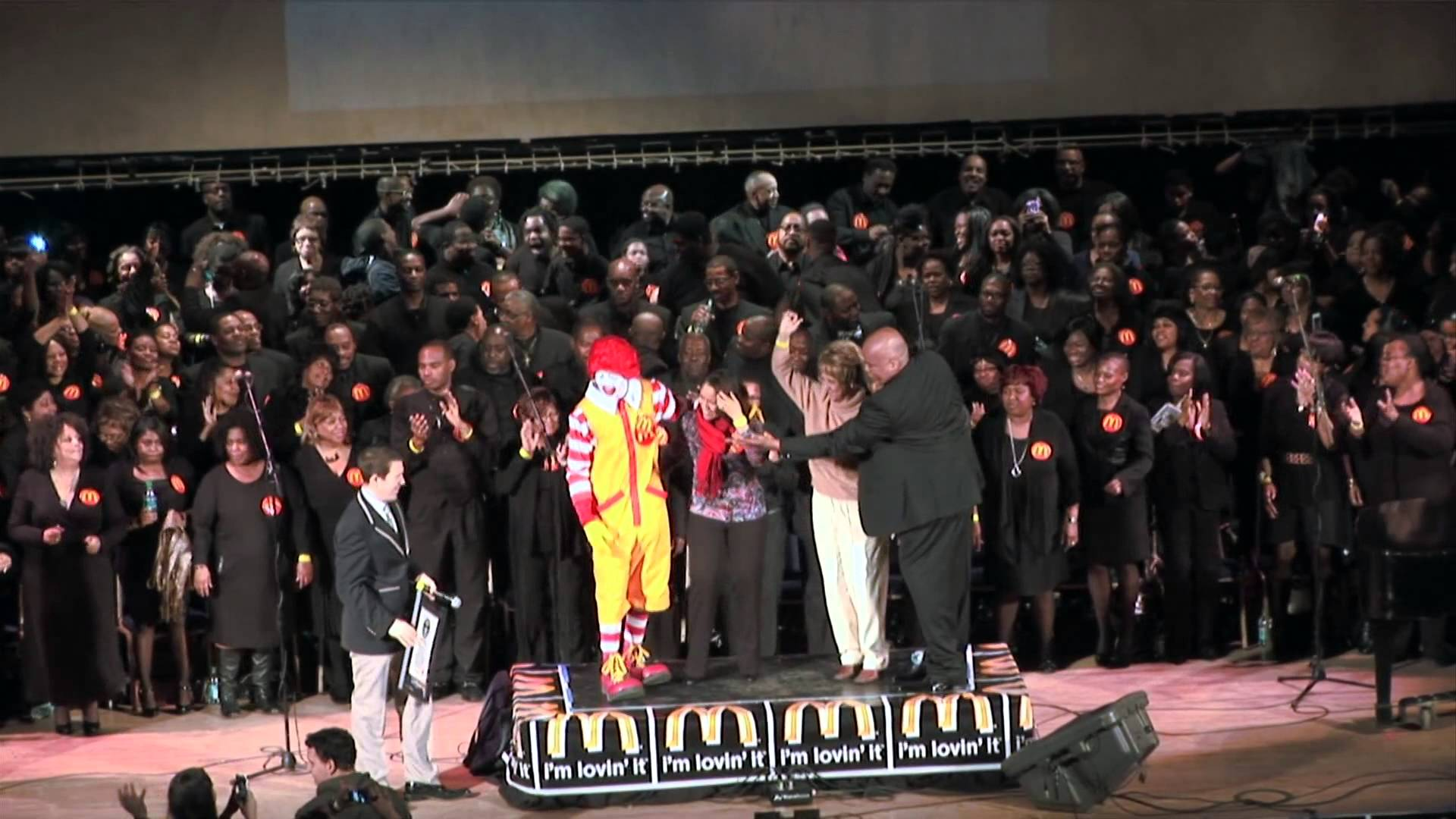 McDonald's Gospel Super Choir Performed at the Official Launch Event To Celebrate The New Additions To McDonald's All Day Breakfast Menu
