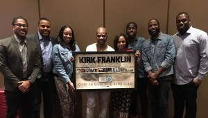 RCA Inspiration honors multi-platinum icon Kirk Franklin/over 10 million albums!