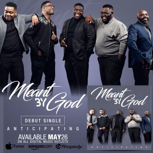 Gospel Recording Artist, Meant By God, releases debut single 'Anticipating'