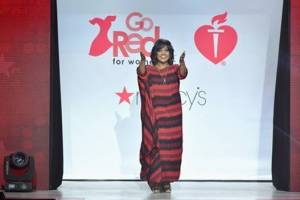 CeCe Winans Goes Red for Women & The American Heart Association