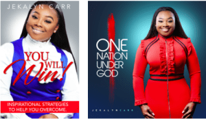 """Jekalyn Carr's You Will Win"""" Single Spends 4th Week At No.1 On Billboard And Mediabase Gospel Airplay Charts, Launches Radio/Press Tour In Support Of New Book And Album Release This Week"""