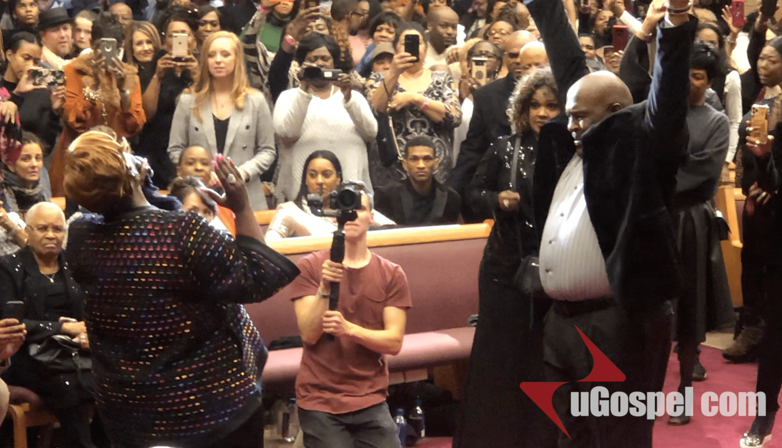 Tramaine Hawkins Sings CHANGED at Donnie McClurkin's 60th Birthday Celebration!