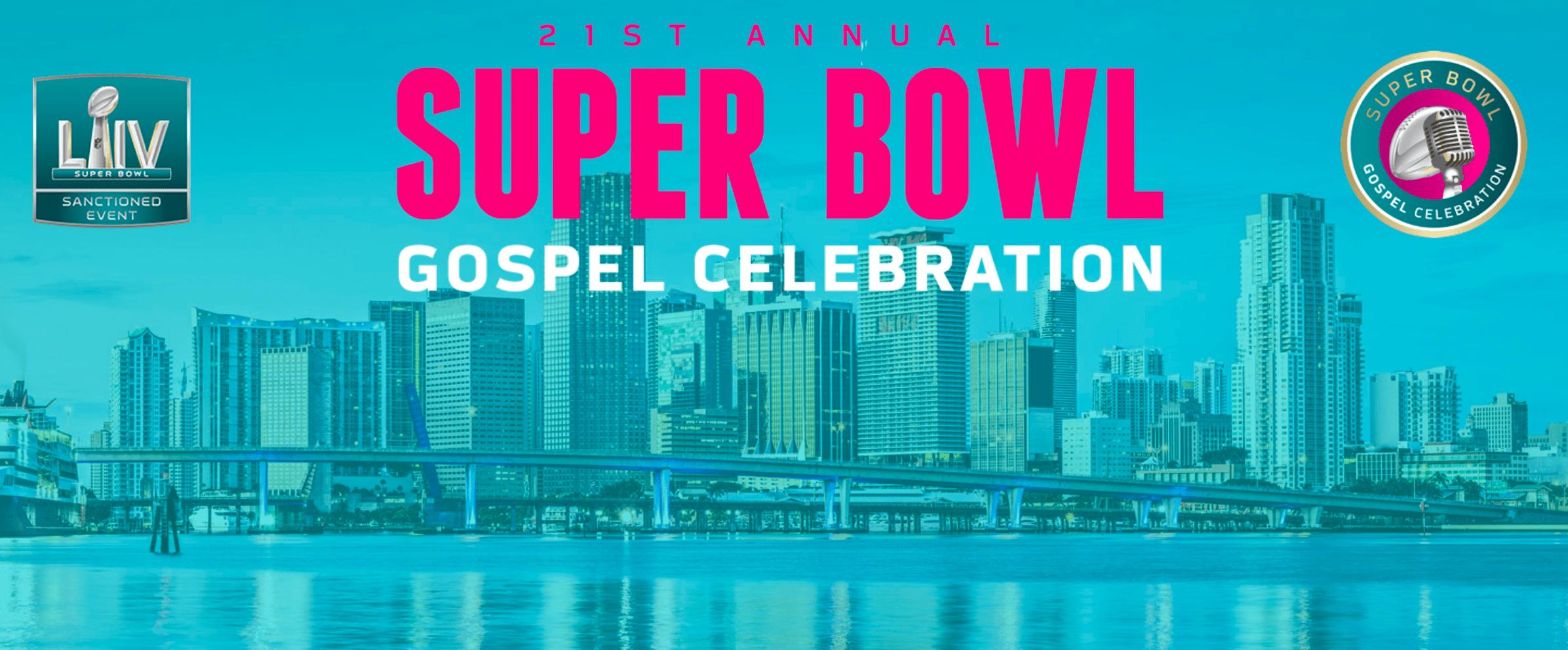 21st Super Bowl Gospel Celebration w/ Rickey Smiley, Commissioned, Donnie McClurkin, Travis Greene, Le'Andria Johnson, Melvin Crispell III & More