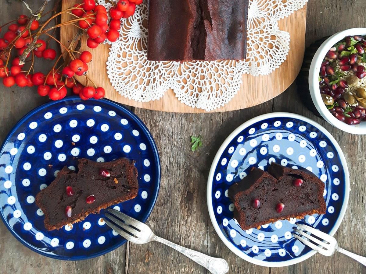 ciasto czekoladowe z pomidorami i chili