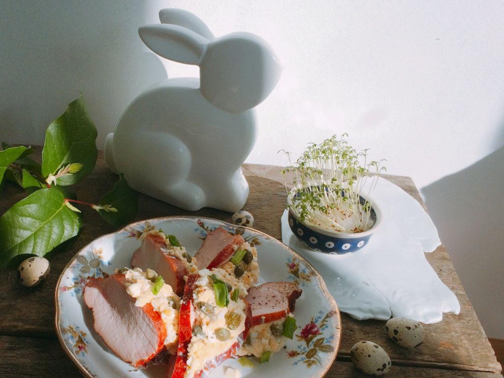 Przepis na schab po warszawsku z jajkami i chrzanem